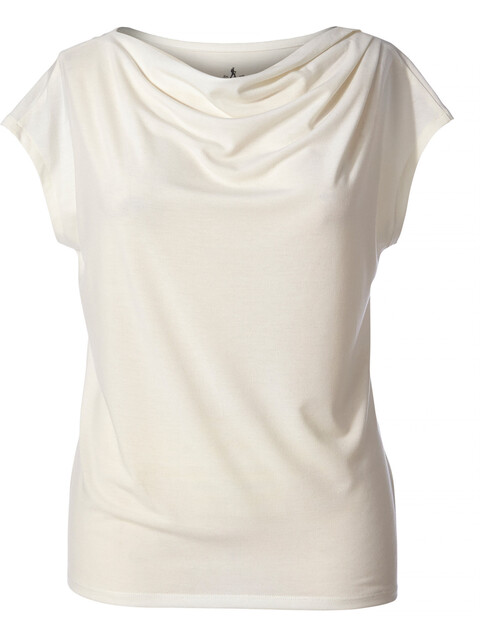 Royal Robbins Essential Tencel Cowl t-shirt Dames beige